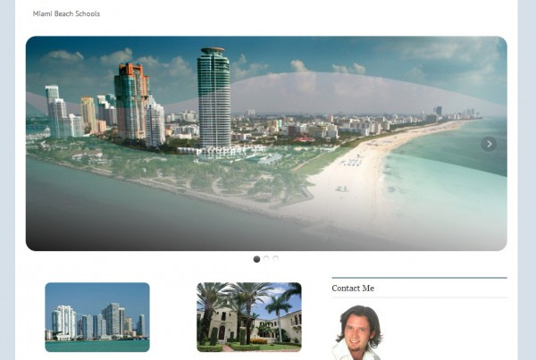 Web Design for Just Miami Beach