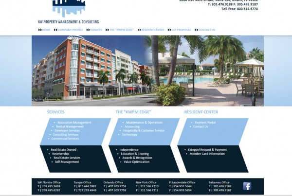 Web Design for KW Property Management