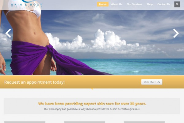 Web Design for Skin Today