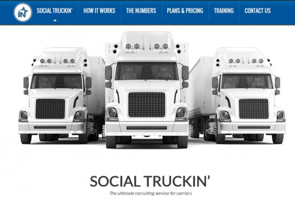 Web Design for Social Truckin